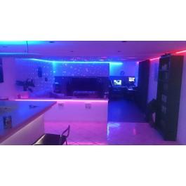 KIT RUBAN LED 5 MÈTRES - 60LED/M - 5050 RGB - IP20