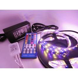 KIT RUBAN LED 5 MÈTRES - 60LED/M - 5050 RGBWW - IP65