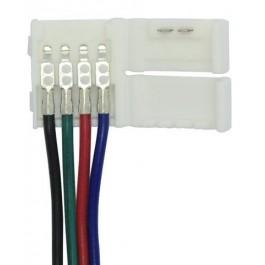 CONNECTEUR A FIL RUBAN RGB