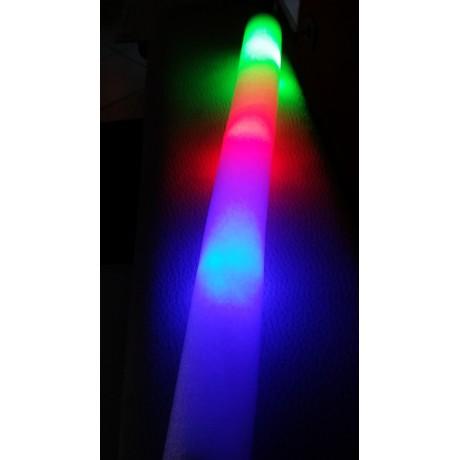 BÂTON MOUSSE LED RGB