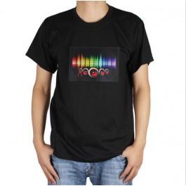 T-SHIRT LED DJ
