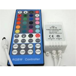 CONTRÔLEUR ET TELECOMMANDE IR RGBW