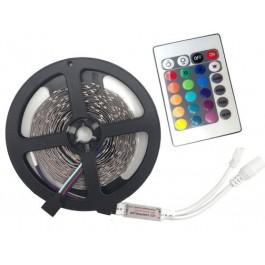 KIT RUBAN LED 3528 - 5 MÈTRES - 60LED/M - RGB - IP20